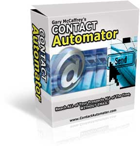 Thumbnail Contact Automator MMR - Reach all of your Prospects All time without Email!