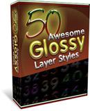Thumbnail 50 Glossy Layer Styles