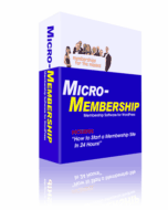 Thumbnail Micro-Membership Plug-In - Wordpress