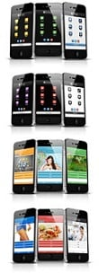 Thumbnail Mobile Website Templates