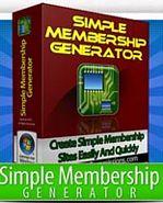 Thumbnail Simple Membership Generator