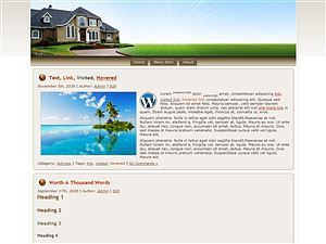 Thumbnail Wordpress Theme Blowout V2