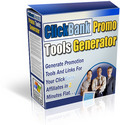 Thumbnail Clickbank Promo Tools Generator - Generate Promo tools and links for your CB affiliate in 2 minutes flat!