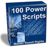 114 Power Scripts All with Resell rights Mega Package!
