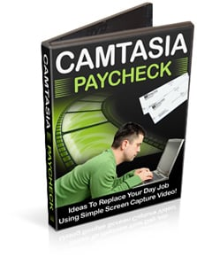 Product picture Camtasia Paycheck : Ideas To Replace Your Day job Using Simple Screen Capture Video