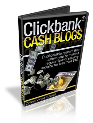 Product picture ClickBank Cash Blogs MRR