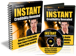 Product picture Instant Credibility Revealed - Audio eBook