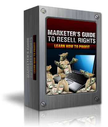 Product picture Marketers Guide To Resell Rights