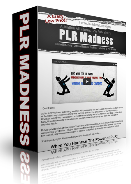 Product picture PLR Madness