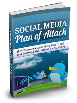 Product picture Social Media Plan Of Attack