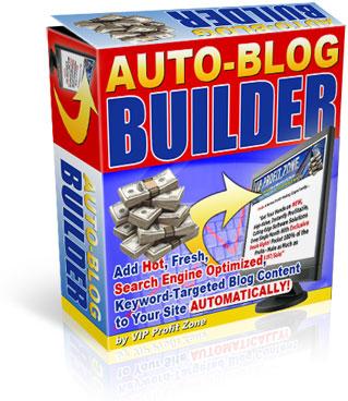 Product picture Auto-Blog Builder Your Auto website Builder