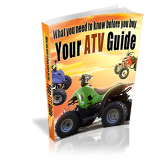 Product picture What You Need To Know Before You Buy an ATV!