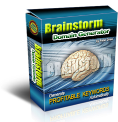 Product picture Brainstorm Domain Generator - Scan the Best Available domain name