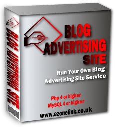 Product picture Blog Advertising Site Script - Make money with your blog!