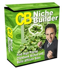 Product picture CB Niche Builder - Instantly Build High Profit ClickBank Affiliate Niche Sites with Resell Rights!