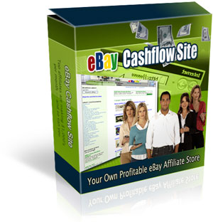 Product picture eBay Cashflow Site MRR - eBay Affiliate site Generator