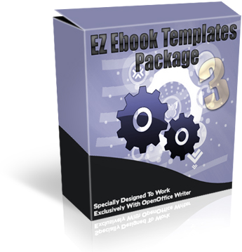 Product picture EZ Ebook Templates Package 3
