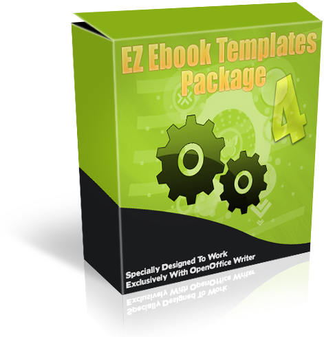 Product picture EZ Ebook Templates Package 4