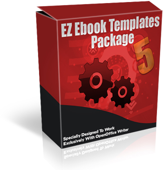 Product picture EZ Ebook Template Package 5