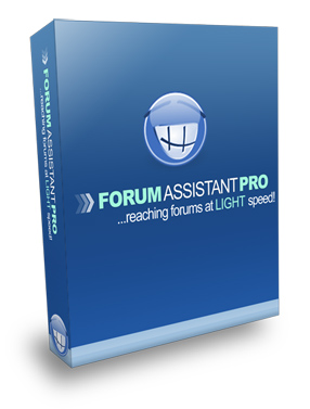 Product picture **New! Forum Assistant  Pro - Reaching Forums at Lightning Speed! MRR