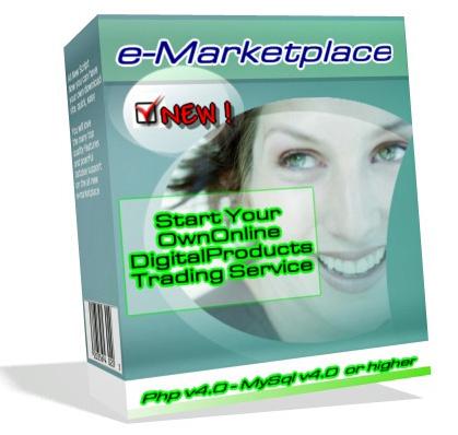 Product picture Start E- MARKETPLACE DIGITAL PORTAL eCommerce Site