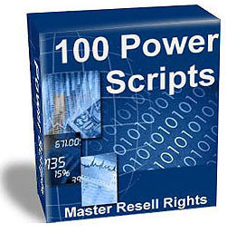 Product picture 114 Power Scripts All with Resell rights Mega Package!