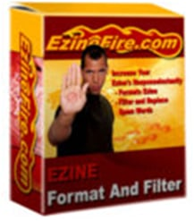 Product picture eZine Filter and Format Software with MRR