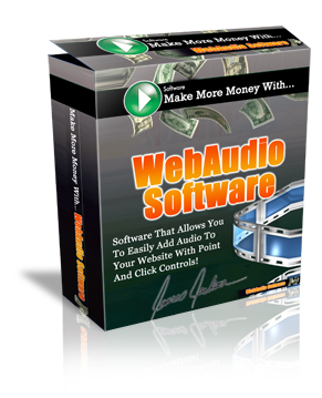 Product picture Web Audio Software